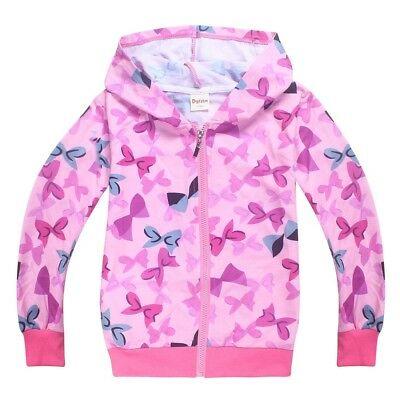 AU12.95 • Buy JOJO SIWA Gilrs Clothing Top Hoodie Thin Jacket Size 2-10yrs Popular Xmas Gift