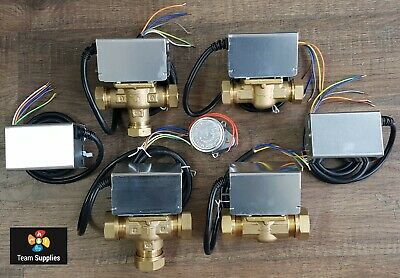ACTUATOR HEADS & MOTORISED ZONE VALVES 2 Or 3 PORT 22mm 28mm REPLACES HONEYWELL • 43.50£