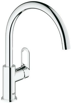 GROHE BAULOOP Kitchen Sink Mixer Tap Single Lever 31368 Swivel High Spout  • 77.95£