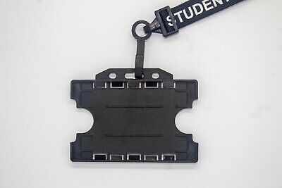 Premium Student Neck Lanyard With ID Card Pass Badge Holder - Fast And Free P&P • 1.74£