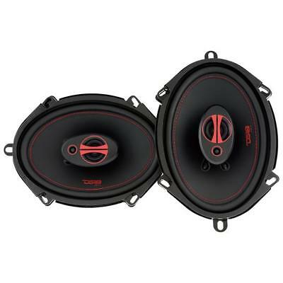 AU52.06 • Buy DS18 GEN-X5.7 5x7  2 Way Car Stereo Speakers 165W Max 4 Ohm Coaxials(Set Of 2)