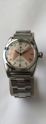 $ CDN10000 • Buy Vintage Rare Rolex Bubbleback Watch Criss Cross Dial Rolex Oyster Perpetual 2940