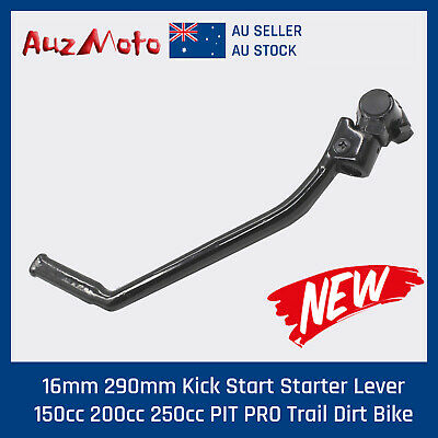 AU26.95 • Buy 16mm Kick Start Starter Lever For 140 150 160 Cc Pit Dirt Bikes YX YCF SDG SSR