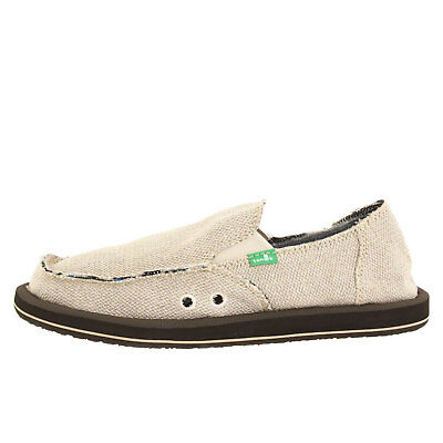 Sanuk Hemp Natural Men's Slip On Sidewalk Surfers SMF1010 • 39.30£