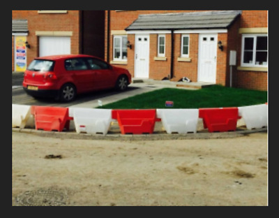 1m Water Filled Road Traffic Pedestrian Barrier Safety Events Building Security • 625£
