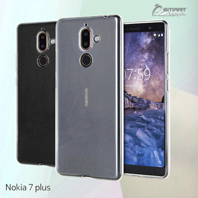 AU4.59 • Buy Matte Gel TPU Jelly Soft Case Cover For Nokia 7 Plus