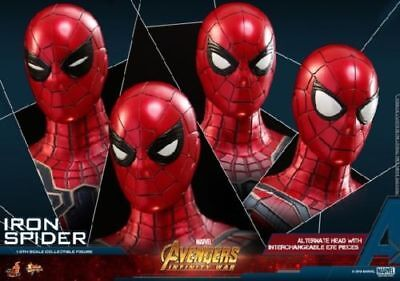 AU499.72 • Buy Hot Toys MMS482 1/6th The Avengers 3 Iron Man Spider Man Figure Collection