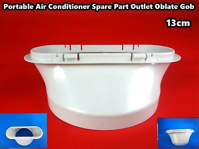AU21.15 • Buy Portable Air Conditioner Spare Parts Outlet Oblate Gob Adaptor (13cm)