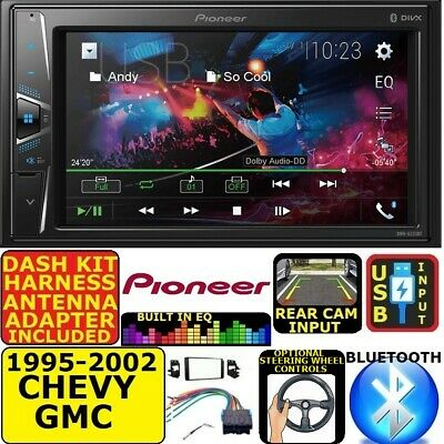 $208.99 • Buy 95-02 Gm Truck/suv Pioneer Touchscreen Bluetooth Usb Double Din Car Stereo Radio
