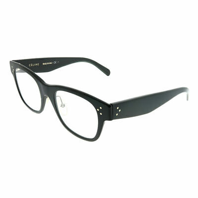 9a96a7ed154a Celine CL 41426 06Z Black Plastic Square Eyeglasses 49mm • 98.99