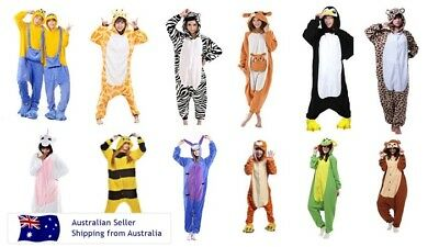 AU31.95 • Buy Onesies Adult Kids Animals One Piece Jumpsuit Pyjamas Sleepwear Unisex Gerber