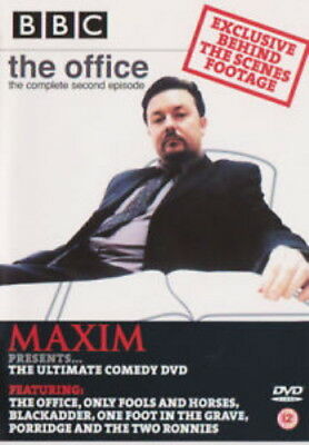 £2.39 • Buy Maxim Ultimate Comedy (DVD, 2002) The Office E2 And More NEW SEALED Promo Copy