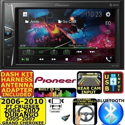 $299.99 • Buy 04 05 06 07 08 09 10 Pt Cruiser Durango Grand Cherokee Usb Bluetooth Car Stereo
