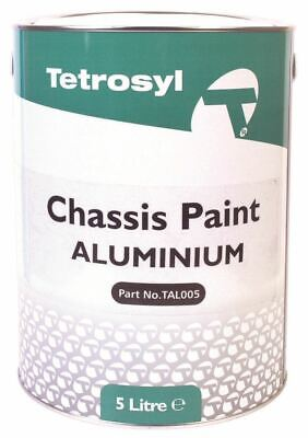 £34.99 • Buy Tetrosyl TAL005 Chassis Paint Aluminium Anti-Rust Corrosion Protection 5 Litres