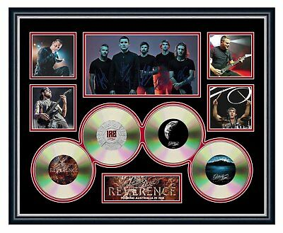 AU94.99 • Buy Parkway Drive Reverence 2018 Tour Signed Limited Edition Framed Memorabilia
