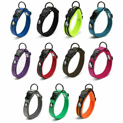 £6.99 • Buy Truelove Dog Puppy Collars Airmesh 3M Reflective Adjustable 8 Sizes / 11 Colours
