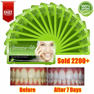 AU14.99 • Buy 28pc Teeth Whitening Stirps 30 Minutes Treat 14pack Tooth White Strips