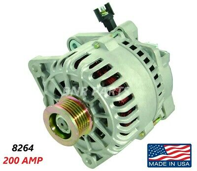 $171.76 • Buy 200 AMP 8264 Alternator Ford Mazda Escape Focus Tribute High Output Performance