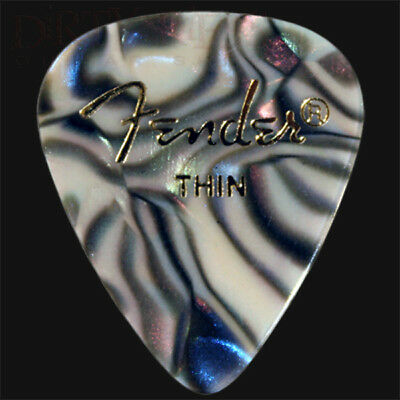 $ CDN4.93 • Buy Fender Abalone Thin Guitar Picks / Plectrums - Choice Of Quantities