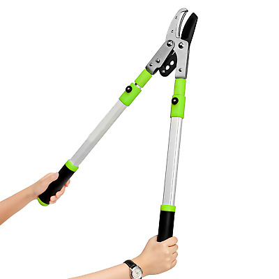 New Gardening Telescopic Anvil Lopper Garden Pruner Tree Hedge Pruning Hand Tool • 200.99£