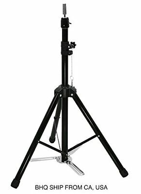 $59.99 • Buy Adjustable Hair Dressing Tripod Training Cosmetology Mannequin Head Holder Stand