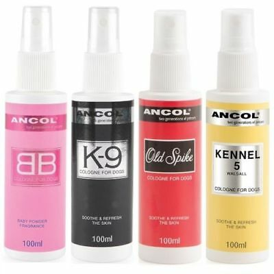 Ancol Dog BB Cologne Puppy Perfume Spray Old Spike Kennel 5 K9 SAMEDAY DISPATCH • 7.25£