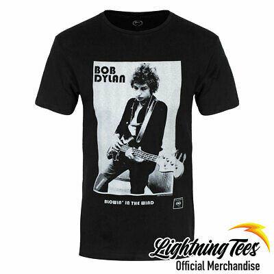 £14.95 • Buy Official Bob Dylan Blowing In The Wind T-Shirt