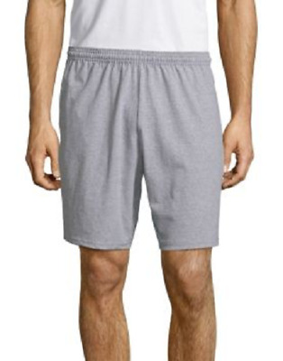 $12.99 • Buy Hanes Mens Jersey Shorts With Front Pockets New