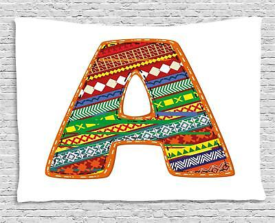 Colorful Letters Tapestry Wall Hanging Form Bedroom Dorm Room Decor 2 Sizes • 22.08£