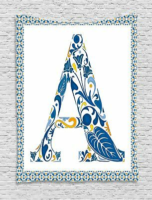Portuguese Letters Tapestry Wall Hanging Form Decoration For Room 2 Sizes • 24.29£
