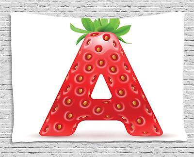 Strawberry Letters Tapestry Wall Hanging Form Bedroom Dorm Room Decor 2 Sizes • 22.08£
