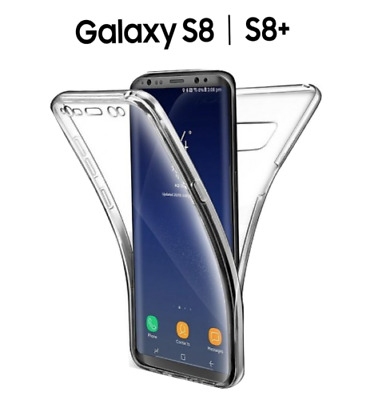 $ CDN8.50 • Buy 360 TPU Front + Back Gel Case For Samsung Galaxy S9 / S8 Plus S7 S6 EDGE Note 8