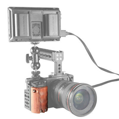$ CDN34.53 • Buy SmallRig Wooden Handgrip For Sony Alpha A6300 A6500 Camera Cage -ZF