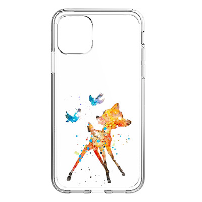 AU8.14 • Buy Bambi Disney Mobile Phone Case Cover For IPhone 7 8 X 11 12 Samsung 8 S9 S10 S20