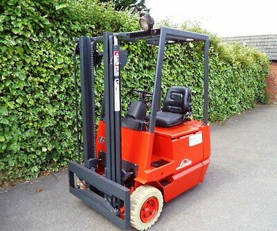 Linde Electric Counterbalance Forklift Truck • 2,950£