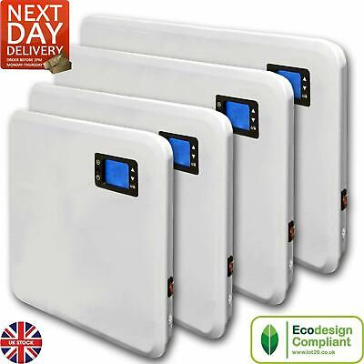 £54.95 • Buy Electric Panel Heater Radiator With Timer Wall Mounted Slim Portable Thermostat