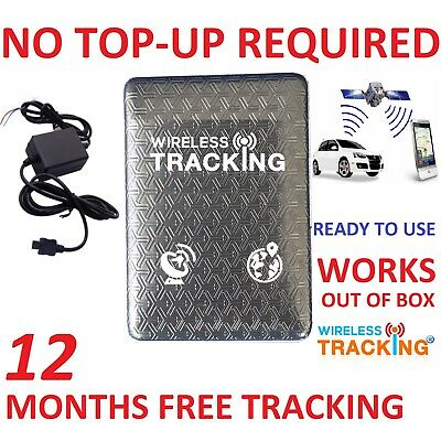 1 Year Free Tracking Tracker Car Vehicle Spy Mini Personal Tracking Device TK310 • 109.99£