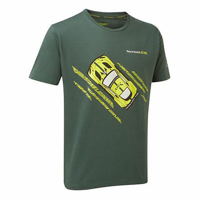 Sale!  ASTON MARTIN RACING VANTAGE GTE T- SHIRT-ALL SIZES - FREE UK SHIPPING • 12.99£
