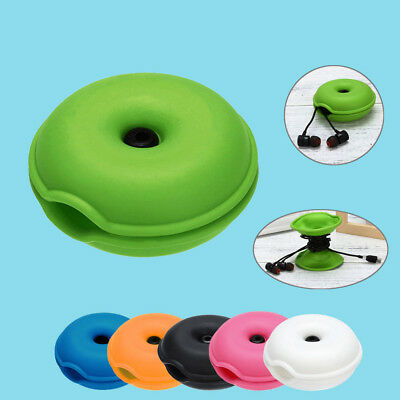 $3.52 • Buy Portable Headset Cable Turtle Case Organizer Wrap Wire Bobbin Winder Manager