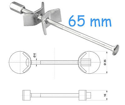 65 Mm Kitchen Worktop Connecting Bolts Joining Joint Clamps Butterfly Connector • 0.99£