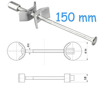 150 Mm Kitchen Worktop Connecting Bolts Joining Joint Clamps Butterfly Connector • 1.79£