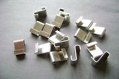 £3.90 • Buy Greenhouse Glass Clips Glass Z Glazing Clips Choose From 5 To 200