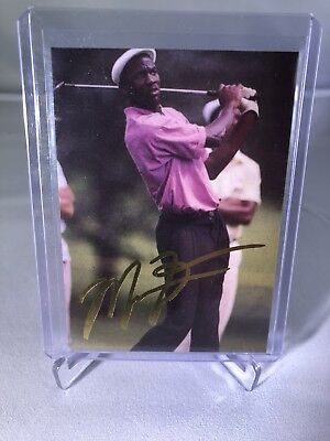 $49.99 • Buy 1993 Michael Jordan Golf Promo Gold Signature