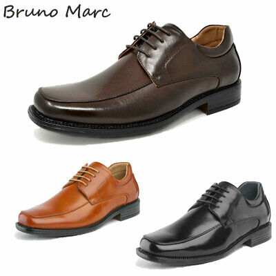 $28.79 • Buy Bruno Marc Mens Oxfords Shoes Square Toe Lace Up Classic Dress Shoes Size 6.5-13