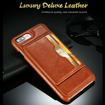 AU7.99 • Buy For IPhone 8 7 6s Plus SE 2020 Wallet Case Stand Shockproof Card Leather Cover