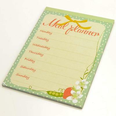 £3.49 • Buy Country Fair Magnetic Meal Planner Writing Pad Shopping List Weekly Planner New