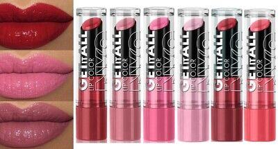 NYC GET IT ALL LIPSTICK ~ Nude ~ Red ~ Pink ~ Coral • 10.95£