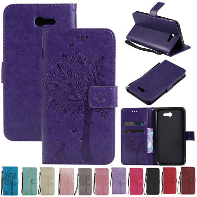 AU6.35 • Buy For Samsung Galaxy J7 Prime/Sky Pro/Perx Leather Case Flip Wallet Magnetic Cover