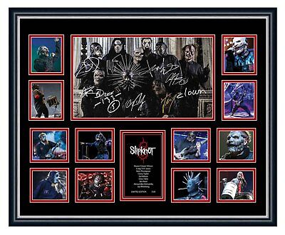 AU94.99 • Buy Slipknot Corey Taylor Signed Limited Edition Framed Memorabilia