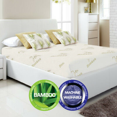 AU29.95 • Buy Bamboo Fully Fitted Mattress Protector(Cot/Single/KS/Double/Queen/King/Super K)